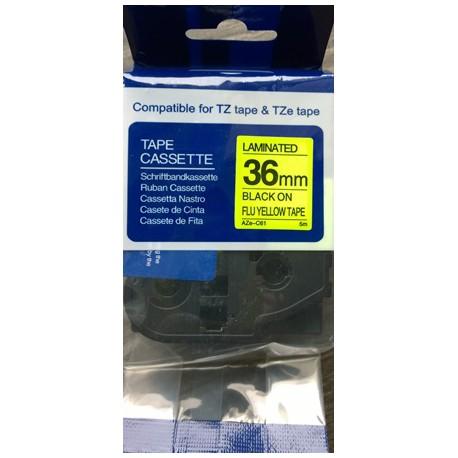 Brother TZ-C61/TZe-C61 - kompatibilní