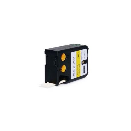DYMO 1868772 XTL 19mm černý tisk/žlutý podklad, vinylová - alternativní