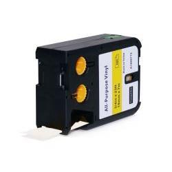 DYMO 1868767 XTL 19mm černý tisk/oranžový podklad, vinylová - alternativní